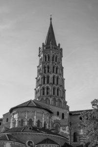 The Bell Tower Basilica Of Saint Sernin Toulouse