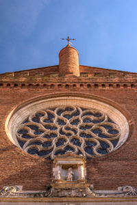 The Church Of Notre Dame De La Dalbade Toulouse
